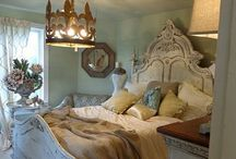 Bedrooms / Beautiful Dream Bedrooms!  / by Nancy Thomas