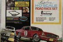 Slot Cars Aurora, et al.   / 500, A/FX, Vibrators, TycoPro, Eldon, Scalextric, Bachmann,  / by Joe Yogurt
