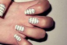 Hair, nails.....