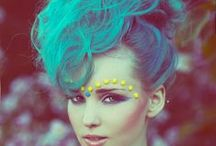 COLORED HAIRSTYLE