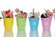 Melamine Servies / Melamine servies van RICE.dk in verschillende vrolijke kleuren en met verschillende hippe printjes.