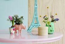 Happy Home! / Vrolijke hippe interieurs en spulletjes met heel veel printjes en kleur.