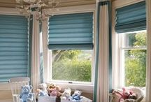 Blinds and Shades / Inspiring blind and drapery combinations.