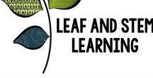 Leaf and STEM Learning Resources / Resources, ideas, and tips for teaching upper elementary and middle school math and science