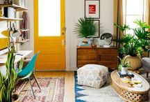 Spring ideas for home / Time to spring clean and bring out the fresh plants