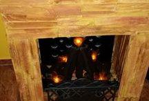 Fireplace DIY / Kandalló építés hungarocellből