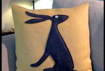 cushions, and cushions