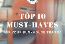 Bunkhouse RV Tips / Get the most bang for your bunkhouse buck with these financing, storage, and comfort tips.