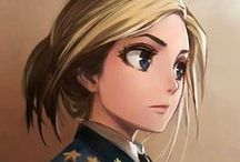 Ekaterina G. Pushko / Communist, Russian girl.