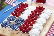 4th of July Favorites! / You will find decadent desserts, delicious drinks and more of our favorite 4th of July treats!