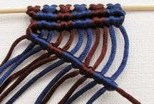DIY, macrame tutorials / Various tutorials on how to make your own macrame jewelry and other items.