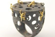 Climbing jewelry / Jewelry designed for rock climbing lovers :).