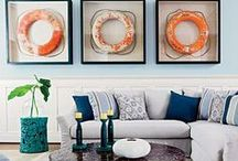 Coastal Decor / Add a touch of coastal decor to your home with inspiration from our board!