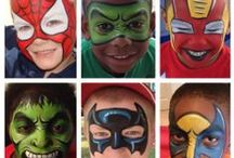 Cool Face Paint Designs / Fabulous and Funky Face Paint Designs