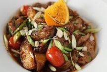 zima // winter / Bieda? Wcale! Korzenne warzywa, bulwy, korzenne przyprawy, marynaty i orient - na rozgrzewkę! // Poor? Not at all! Winter veggies, spices, marinades and oriental touch - to warm up!