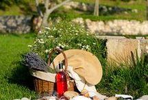 Déjeuner sur l'herbe... / inspirations déjeuner d'été... #piquenique