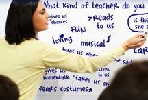Back to School / What should you do with your students on the first days of school? Here are some ideas we've gathered!