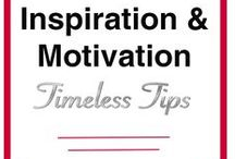 Inspiration & Motivation Timeless Tips / This is a group board for collaborators to share timeless tips on being motivated about life in general and sharing inspiration and quotes to improve life. Open to new members. Please only post pins that are generally motivating, not general posts about a specific task to do! Pins that are not found to be motivational will be removed! NO REPEAT PINS! Follow me @DrMommaSays and send me a message or email.