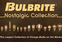Nostalgic Collection / The options are limitless when it comes to Bulbrite's Nostalgic Collection. These handcrafted, vintage bulbs are the perfect complement to any antique or contemporary décor. Inspired by Thomas Edison's original creation, the Nostalgic Collection offers an unparalleled aesthetic appeal with an antique finish, defined steeple and intricate filament design.