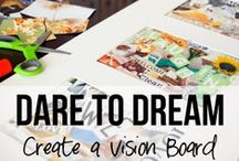 Vision Boards - Inspirational ideas
