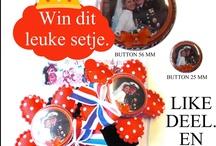 Koninginnedag bij Marlijnpoppendijn.