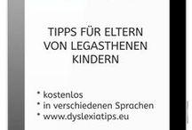 Ebooks / Bücher zu den Themen Legasthenie, LRS, Dyskalkulie, Lernen.