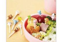 Pics à Bento / Pics à Bento trop mignons pour que vos bento soient les plus kawaii possibles ou tout simplement pour décorer vos cupcakes et gâteaux et épater votre famille et vos amis! Disponible sur www.shikaco.com