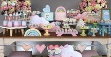 Girl baby shower party ideas