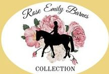 Equestrian Rose Gold Collection / Designs by Loriece's latest collection is all rose gold. Inspired  by the heartwarming joy horses bring into our lives, these rose gold pieces are timeless, gorgeous, and oh-so-equestrian.