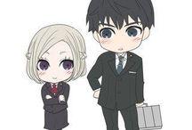 •Akira & Amon•