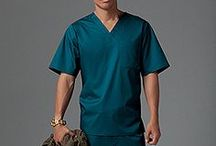 Men's Wear / The masculine side of medical wear.