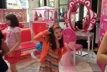 Fashion in NYC: Out and About / We really get around town! And by town we mean NYC. From shopping the fabric and trim stores to meeting beauty queens, the kids of The Fashion Class get a lot of real life NYC fashion exposure.