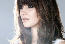 Mid Length Styles / Is this your preferred length, growing or growing shorter? have a look for ideas...
