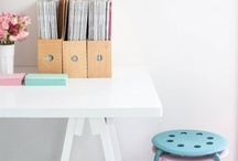 The Home Office / Working at or away from home. We all need a little space to tuck away those important documents. Might as well make it look awesome too! Keep those creative and productive juices flowing!