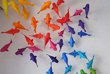 Origami / Origami guirlanda