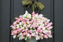 Spring/ Summer wreaths / by Madeline Dillard