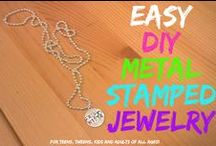 DIY: Make your own Jewelry / Jewelry is easy and fun to make. Check out our favorite DIY jewelry making projects for you and your 'lil fashionista.