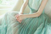 Fashion: crepe and chiffon dresses