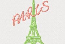 Sewing Embroidery Designs / #embroidery #embronetto Embroidery Logo Design : Paris