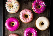 We Want Doughnuts! / Sweet Circles. May you be glazed, topped, filled and eaten!