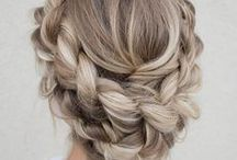 Updo for Long Hair / Hair style for competitions