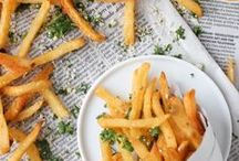 French Fries / Wether you like them plain, with ketchup or smothered in gravy and cheese curds. Fries are the staple ingredient to any delightfully deep fried meal, or side.