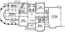 Houseplans: 4 bedrooms