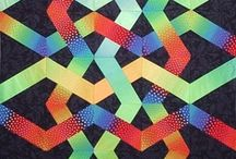 X Block/Woven Quilts / Love the woven look / by Mel Beach