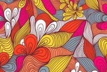 Walking Foot/Free Motion Quilting Designs / I am FMQ challenged, so I am always looking for walking foot friendly quilting patterns.  Although I aspire to one day be comfortable with FMQ. / by Mel Beach