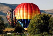 Hot air balloons / by Ed N June Camacho