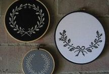 Getting Crafty / Ideas for cross stitch, illustrations, typography and general crafts