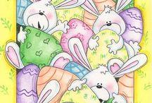 Conejos / Materiales varios / de Adriana Cisneros