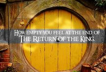 """TOLKIEN """"Little by little, one travels far"""" / Tolkien all the way."""