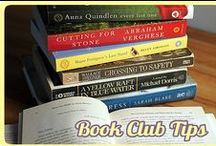 Book Club Hosting Ideas / Thinking about starting a book club? Are you the host of a bookclub already? Here are some neat ideas for your next meeting!